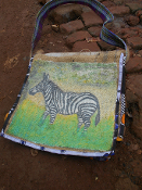 Book Bag (Zebra)